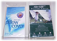 American Textile pillow cover display packaging